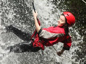 Canyoning en Turrialba